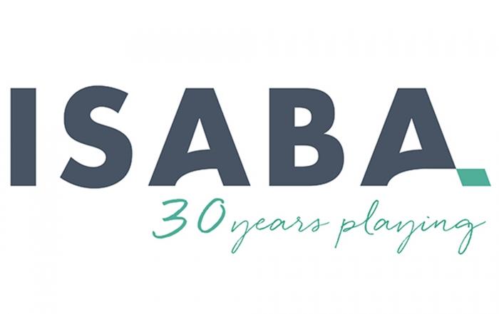 Isaba logo 2017 30 años