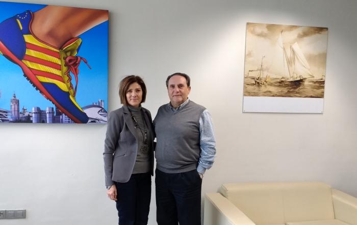 Maite Girau y M.A.Nogueras
