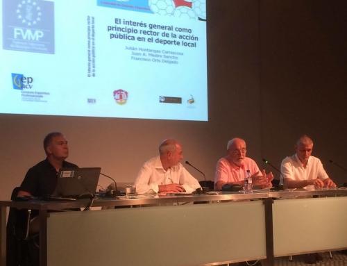 Presentación oficial: El interés general como principio rector de la acción pública en el deporte local