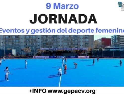 JORNADA: Eventos y Gestión del Deporte Femenino