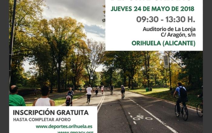 CARTEL JORNADA JORNADA LA PLANIFICACIÓN DE INSTALACIONES Y ENTORNOS SALUDABLES