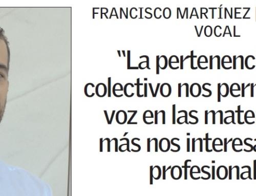 COLEF CV: entrevista a Fran Martinez, secretario técnico y tesorero GEPACV