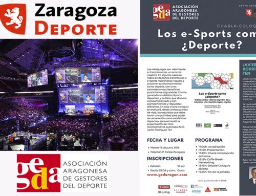 GEDA ARAGÓN: Los E-Sports como ¿deporte?