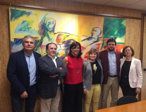 GEPACV en la reunión con la Secretaria de Estado para el Deporte