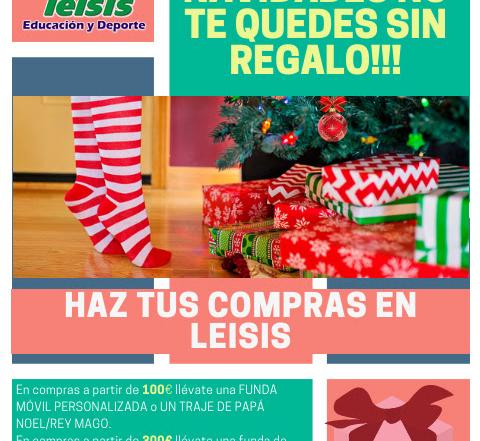 LEISIS. PROMOCIONES NAVIDAD