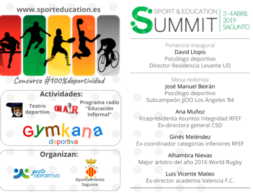 SPORT & EDUCATION SUMMIT: descuento GEPACV