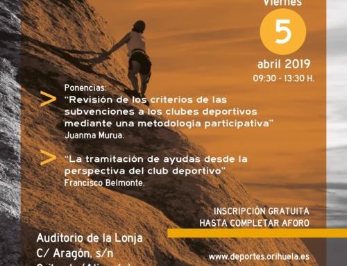 Resumen de las 3as Jornadas de Gestión del Deporte en Orihuela