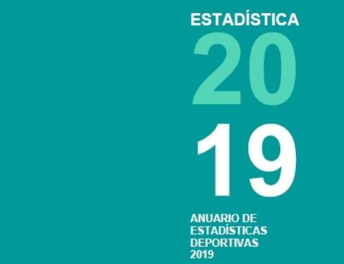 Anuario de Estadísticas Deportivas 2019